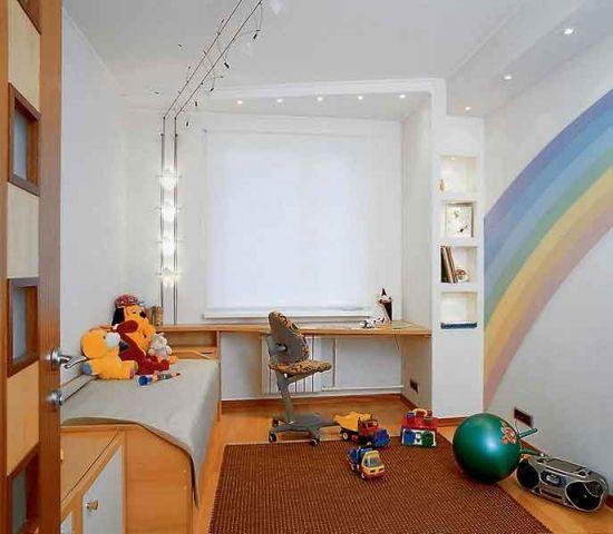 Комнату ремонт в детской комнате
