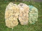 Дрова березовые колотые для камина и бани