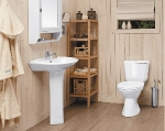 Santek оборудует ванные комнаты «зеленого дома» FREEDOM